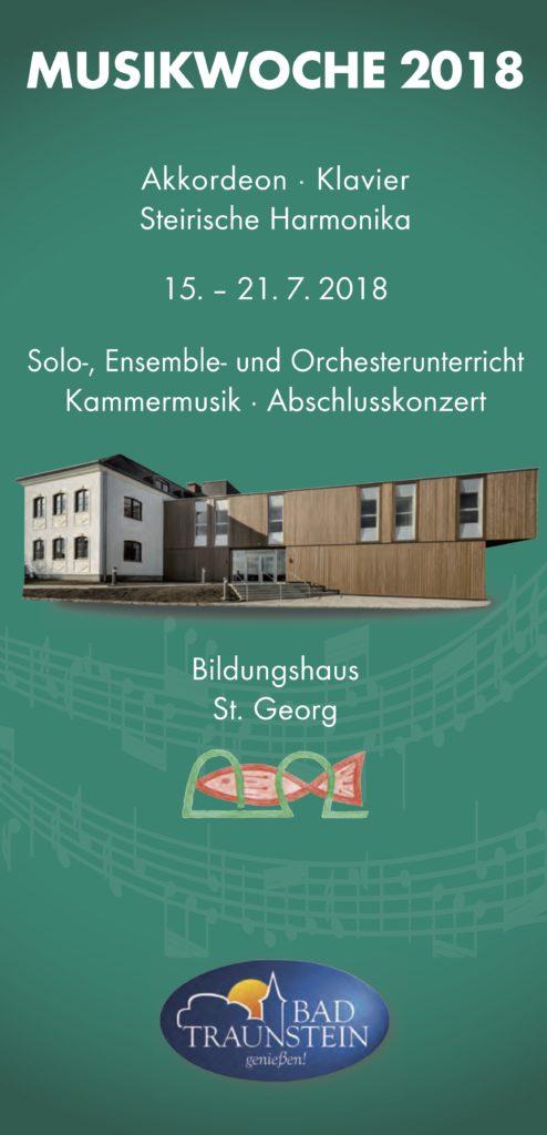 Musikwoche Traunstein 2018