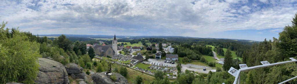 Bad Traunstein Panorama